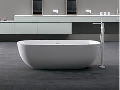 INBANI, TEMPLE Vasca da bagno centro stanza in Solid Surface