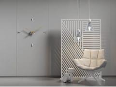 Orologio in metallo da parete TEMPO 4-80 -
