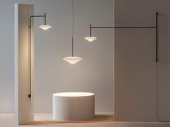 Lampada da presa a LED a luce diretta in acciaioTEMPO 5760_5761 - VIBIA