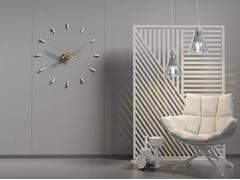 Orologio in metallo da parete TEMPO 80 -