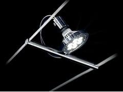 Faretto a LED alogeno in acciaio in stile moderno a soffittoTENSOSPOT PAR30 - CINI&NILS