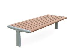 GHM-ECLATEC, TEO | Panchina senza schienale  Panchina senza schienale