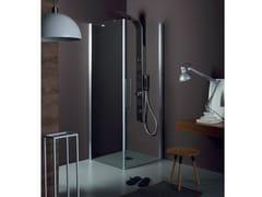 Box doccia con porta a battenteTEPB42 + TELF | Box doccia angolare - TAMANACO