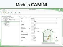 LOGICAL SOFT, TERMOLOG - Modulo CAMINI Certificazione energetica e progettazione termotecnica