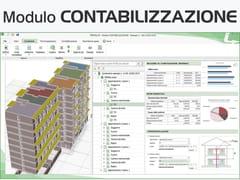 LOGICAL SOFT, TERMOLOG - Modulo CONTABILIZZAZIONE Certificazione energetica e progettazione termotecnica