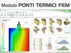 Certificazione energetica e progettazione termotecnicaTERMOLOG - Modulo PONTI TERMICI FEM - LOGICAL SOFT