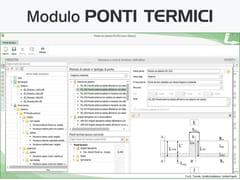 Certificazione energetica e progettazione termotecnicaTERMOLOG - Modulo PONTI TERMICI - LOGICAL SOFT