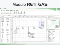 Certificazione energetica e progettazione termotecnicaTERMOLOG - Modulo RETI GAS - LOGICAL SOFT