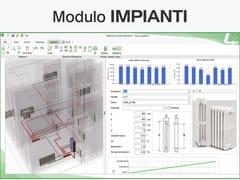 Certificazione energetica e progettazione termotecnicaTERMOLOG - Modulo IMPIANTI - LOGICAL SOFT
