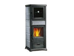 Termostufa a legna con forno per cucinareTERMOROSSELLA PLUS FORNO DSA - LA NORDICA
