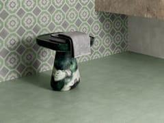 Marca Corona, TERRA.ART MENTA Pavimento/rivestimento in gres porcellanato per interni