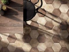 Pavimento/rivestimento in gres porcellanato a tutta massaTERRA - OCRA - CERAMICHE MARCA CORONA