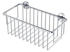 Portasapone a muro adesivo in metallo per doccia TESA® BAATH 40214 - tesa® Baath