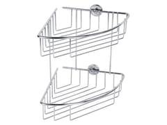 Portasapone a muro adesivo in metallo per doccia TESA® BAATH 40215 - tesa® Baath