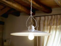 Lampada a sospensione a luce diretta e indiretta in ceramicaTESA   Lampada a sospensione - ALDO BERNARDI