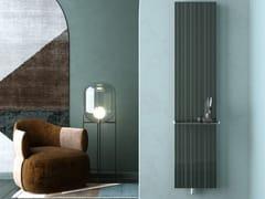 Termoarredo ad acqua calda verticale in alluminioTESSUTO - CORDIVARI