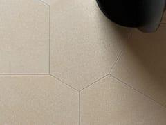 Pavimento/rivestimento in pietra naturaleTESSUTO POLIGONO6 GREIGE - TWS - TIPICAL WORLD STONE