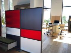 Pannello divisorio free standing modulare TETRIX - inUNO