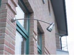 Proiettore per esterno orientabile in acciaio inox TEX S - Tex