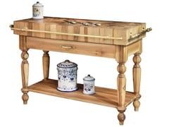 Tagliere in legno masselloTGL001 | Modulo cucina freestanding - OFFICINE GULLO
