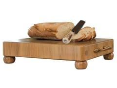 Tagliere rettangolare in legno massello con manicoTGL008 | Tagliere - OFFICINE GULLO