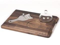 Tagliere da tartufo rettangolare in noceACGCBTA010NO | Tagliere - OFFICINE GULLO
