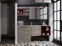 Mobile lavanderia con lavatoio per lavatriceTHAI 326 - RAB ARREDOBAGNO