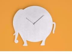 Orologio in alluminio da pareteTHE ELEPHANT - ROUND ANIMALS DESIGN