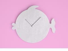 Orologio in alluminio da parete THE FISH -