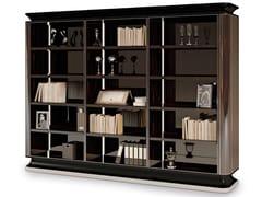Libreria in ebano a giorno e a pareteTHE MAJESTIC | Libreria a giorno - BELLOTTI EZIO ARREDAMENTI
