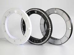 Orologio in ABSTHE ONLY CLOCK - KIBARDIN DESIGN