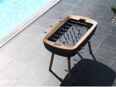 Calciobalilla rettangolare in legno masselloTHE PURE - BILLARDS TOULET