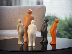 Scultura in ceramica THE VISITOR MINI - Limited lustrum ed. - GARDECO
