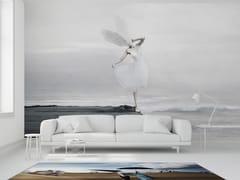 Mineheart, THE WHITE SKY XIX Carta da parati in vinile con paesaggi