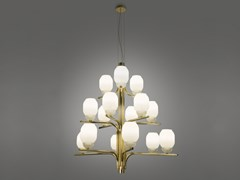 Lampadario in ferro e vetro THECHANDELIER 5170/15 - ALMA LIGHT