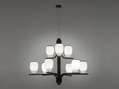 Lampadario in ferro e vetroTHECHANDELIER 5170/09 - ALMA LIGHT