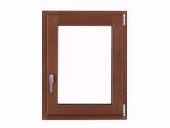 Finestra ad anta-ribalta in alluminio e legno con triplo vetro THERMIC PLUS -