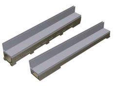 GRIDIRON GRIGLIATI, THIN FESSURA LATERALE - BASE100 / MODEL Copertura zincata con fessura laterale