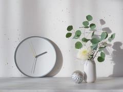 Orologio in acciaio da pareteTHIN - TEO - TIMELESS EVERYDAY OBJECTS