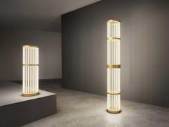 Lampada da terra a LED in metalloTHIRTIES - OLEV