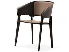 Sedia in legno con braccioliTHREEPIECE - FORMER / BUSNELLI S.P.A. A SOCIO UNICO