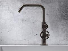 Rubinetto per lavabo da piano monoforo in metallo in stile moderno senza scarico TIBÒ - TIB1C - Tibò