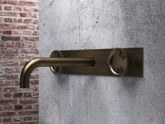 Rubinetto per lavabo a 3 fori a muro senza scarico TIBÒ - TIB57 - Tibò