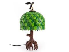 Lampada da tavolo a LED a luce indiretta in resinaTIFFANY TREE - SELETTI