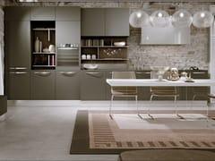 Cucina componibile lineare in legnoTIGULLIO - SCIC
