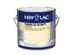Vernice opaca incolore TIMBER-LAC HS MATT - NEW LAC