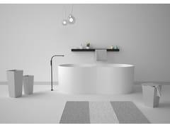 Vasca da bagno centro stanza ovale in acrilicoTIME | Vasca da bagno - GSG CERAMIC DESIGN