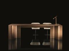 Tavolo rettangolare in ottoneTIME - H-07