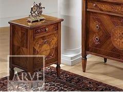 Comodino in legno con cassettiTINTORETTO | Comodino - ARVESTYLE