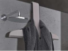 Geelli, TITO Porta accappatoio / Spatola per box doccia in gel poliuretanico